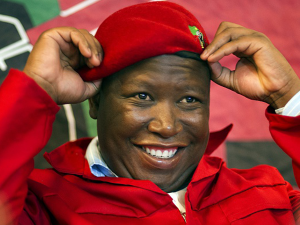 EFF LEADER 'Julius Malema' backs party spokesperson on controversial Springbok tweets