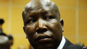 EFF leader 'Julius Malema' gets heat for trying to throw shade at the Springboks