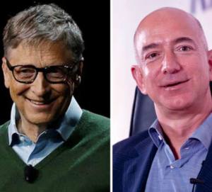 Jeff Bezos loses world's richest position to Bill Gates