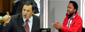 DA Parliamentary Leader 'John Steenhuisen' shades EFF'S national spokesperson over Springbok tweet; calls him 'the Grinch who stole Christmas'
