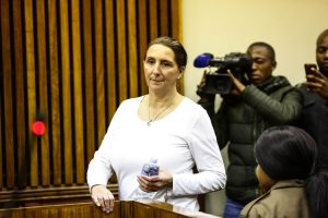 Convicted racist Vicky Momberg wants the state to pay her R8.5-million for what she says was unlawful arrest and detention.
