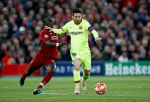 'It is a shame to see Sadio Mane in fourth'- Lionel Messi says Liverpool star should have been higher in Ballon d'Or rankings