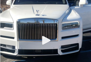 Floyd Mayweather buys 2020 Rolls Royce Cullinan Truck and 2020 Bentley Continental GT Mulliner to celebrate Christmas (Photos/Video)