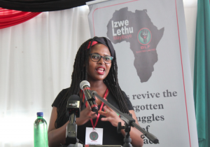 'We are not amending our constitution for white people'. Says BLF deputy president