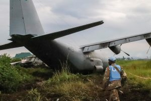 Breaking News:- South Africa's military aircraft carrying UN soldiers crash lands in DR Congo