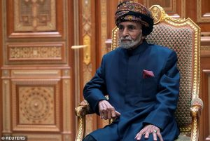 Sultan of Oman, Qaboos bin Said Al Said passes away at 79 without an heir after ruling for 50 years