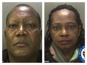 Nigerian pastor who raped children and adults with the support of his wife, convicted in the UK (photos)