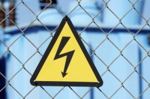 Man electrocuted at residence.