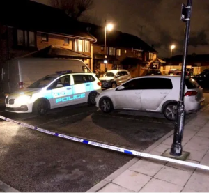 Man, 54, arrested on suspicion of murder after woman, 35, was found dead in a home with suspected stab wounds