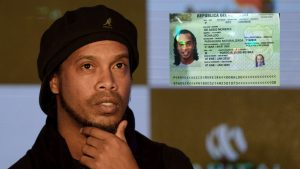 Ronaldinho arrested by police for entering Paraguay with a fake passport