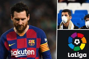 All La Liga games in Spain are suspended amid Coronavirus pandemic
