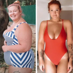 Woman loses so much weight after leaving toxic boyfriend and now plans to be in a beauty pageant