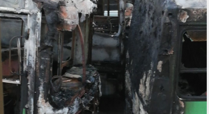 Three suspects apprehnded for arson attack on Durban bus company