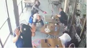 WATCH: Armed robbers attack at Johannesburg restaurant