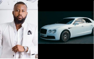 South African rapper, Cassper Nyovest buys himself a R2.3M Bentley for his 30th birthday (Video)
