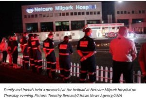 WATCH VIDEO: Paramedics pay tribute to colleagues who died in helicopter crash