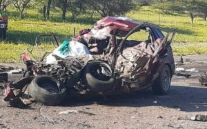 1, 448 people died by road during the festive season