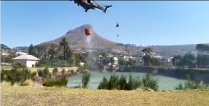 Suspect apprehended for Table Mountain fire appears in court