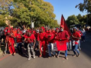 Police to open criminal charges against EFF protest convenor for contravention of lockdown regulations