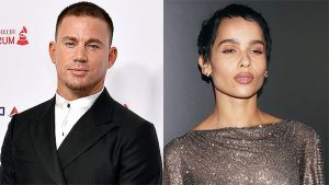 Zoe Kravitz Holds Flowers On Getaway With Channing Tatum After Finalizing Her Divorce