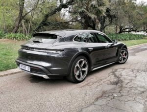 Porsche Taycan Cross Turismo: you're never too old for Scalextric