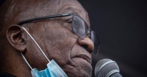 WATCH | Zuma talks to supporters after laying charges against Billy Downer