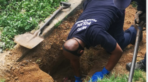 Second foetus found in a shallow grave in KwaZulu-Natal within a week