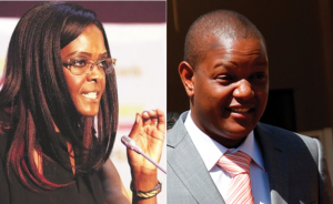 Former Zimbabwean First Lady, Grace Mugabe's son arrested for theft